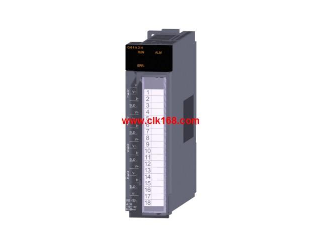 三菱q64adh高速型电压/电流输入模拟量模块三菱q64adh